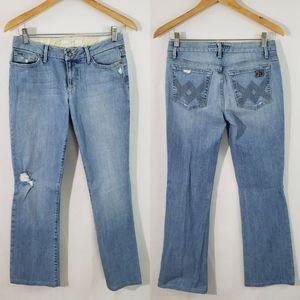 JOE'S Honey Women's Lee Wash Distressed Jeans